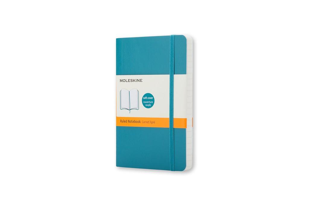 Caderno Moleskine Clássico, Azul Marinho, Capa Flexível