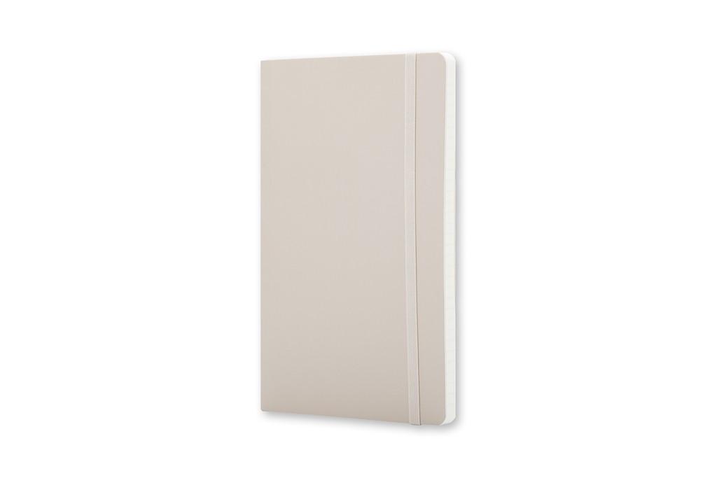 Caderno Moleskine Clássico, Bege Caqui, Capa Flexível