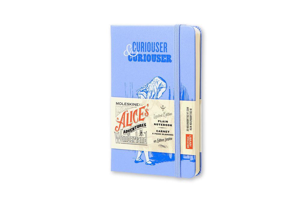 Caderno Edição Limitada Alice De Bolso Sem Pauta