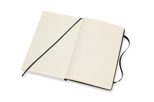 Caderno Moleskine Edição Limitada, Branca de Neve, Coroa, Capa Dura, Pautado, Grande