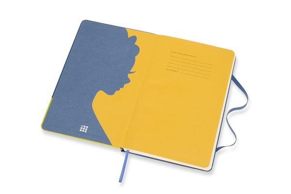 Caderno Moleskine Edição Limitada, Branca de Neve, Vestido, Capa Dura, Pautado, Grande