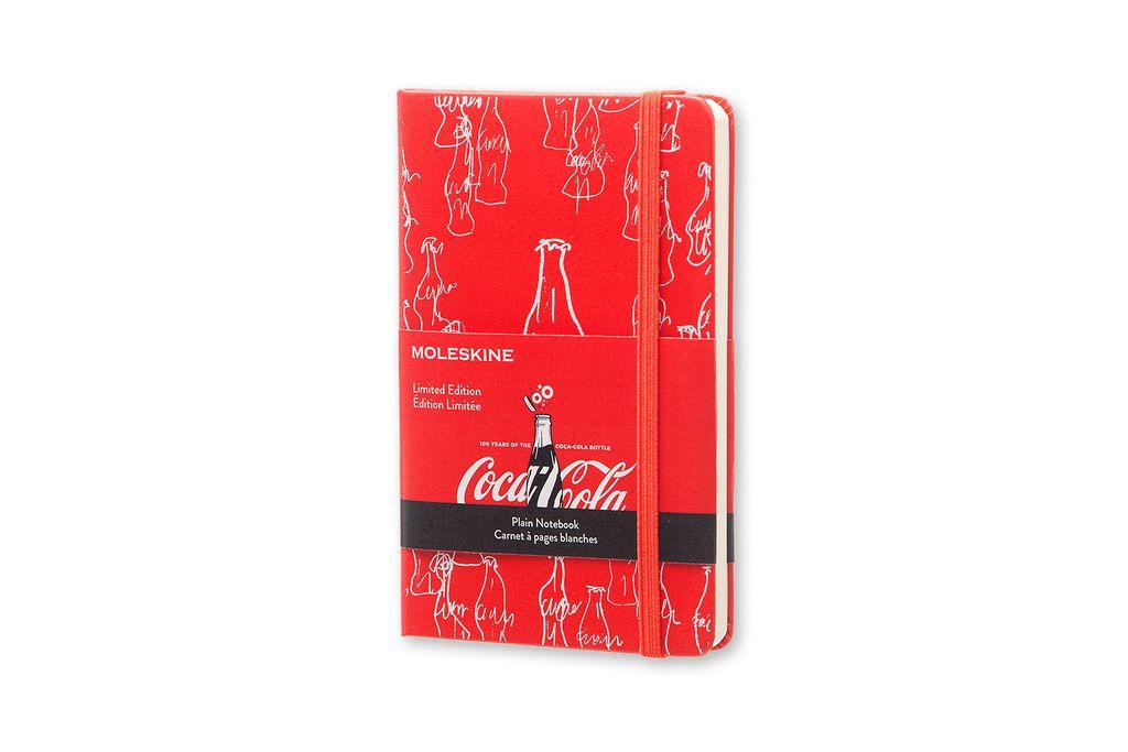 Caderno Edição Limitada Coca Cola De Bolso Sem Pauta Vermelho
