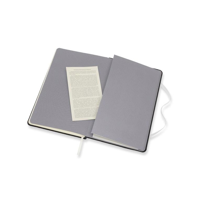 Caderno Moleskine Edição Limitada, Denim, Hand Wash Only, Capa Dura, Pautado, Grande