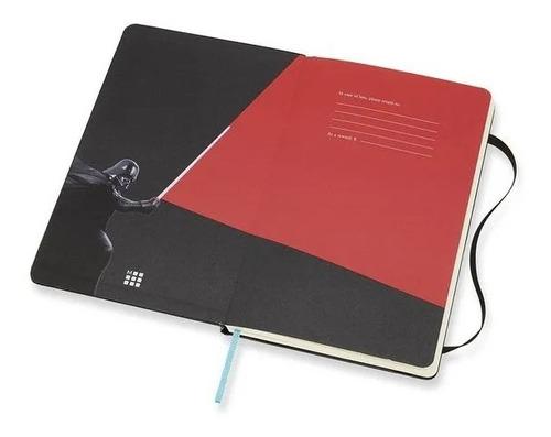 Caderno Edição Limitada, Star Wars Duelo de Sabres de Luz, Grande, Pautado