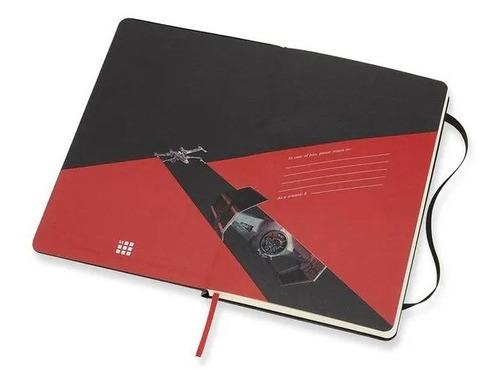 Caderno Edição Limitada, Star Wars, Naves, Grande, Pautado