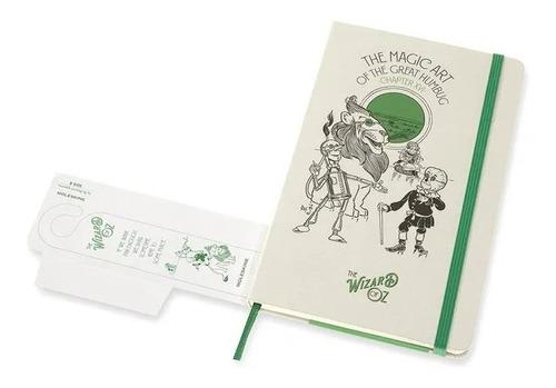 Caderno Edição Limitada, Wizard Of Oz Magic Art, Pautado, Capa Dura, Grande