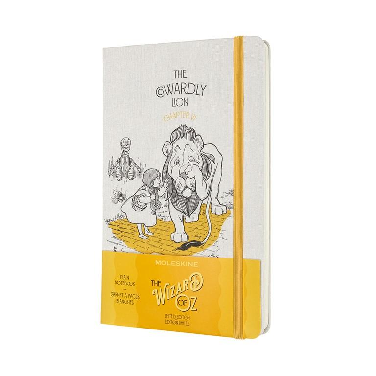 Caderno Edição Limitada, Wizard Of Oz, Sem Pauda, Capa Dura, Grande