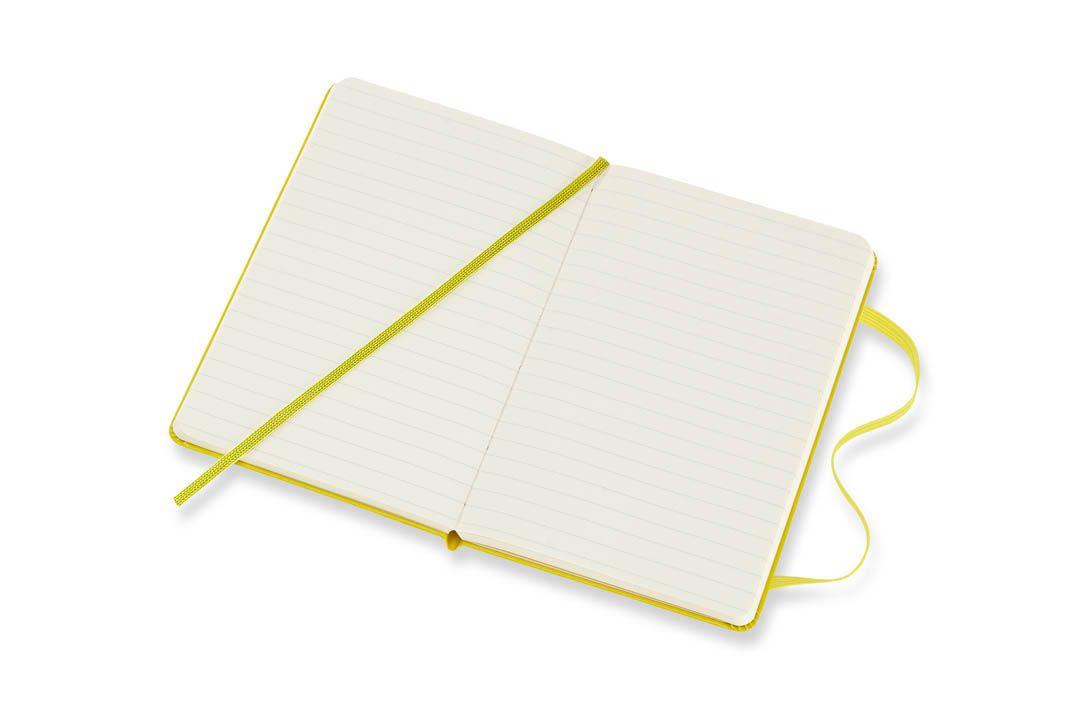 Caderno Moleskine Clássico, Amarelo Dente-de-leão, Capa Dura
