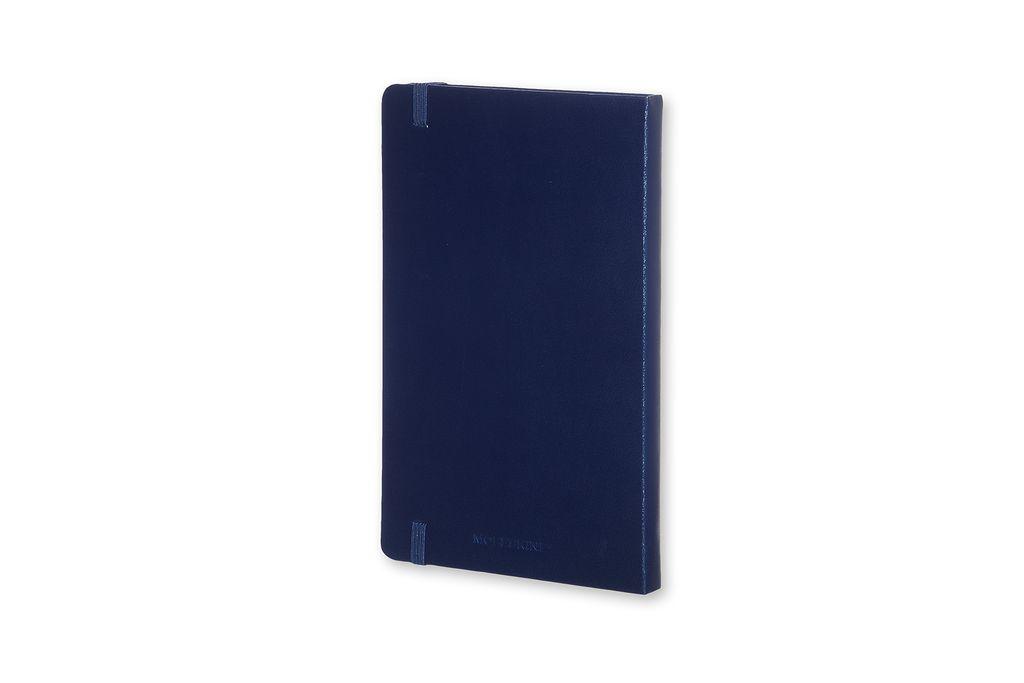 Caderno Moleskine Clássico, Azul Prussia, Capa Dura, Pautado, Tamanho Bolso