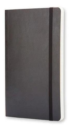 Caderno Moleskine Clássico, Preto, Capa Flexível