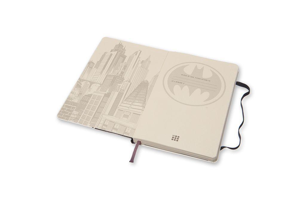 Caderno Moleskine Edição Limitada, Batman, Capa Dura, Pautado, Grande