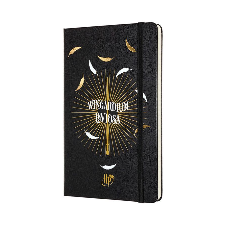 Caderno Moleskine, Edição Limitada Harry Potter, Leviosa, Pautado, Grande (13 x 21 cm)