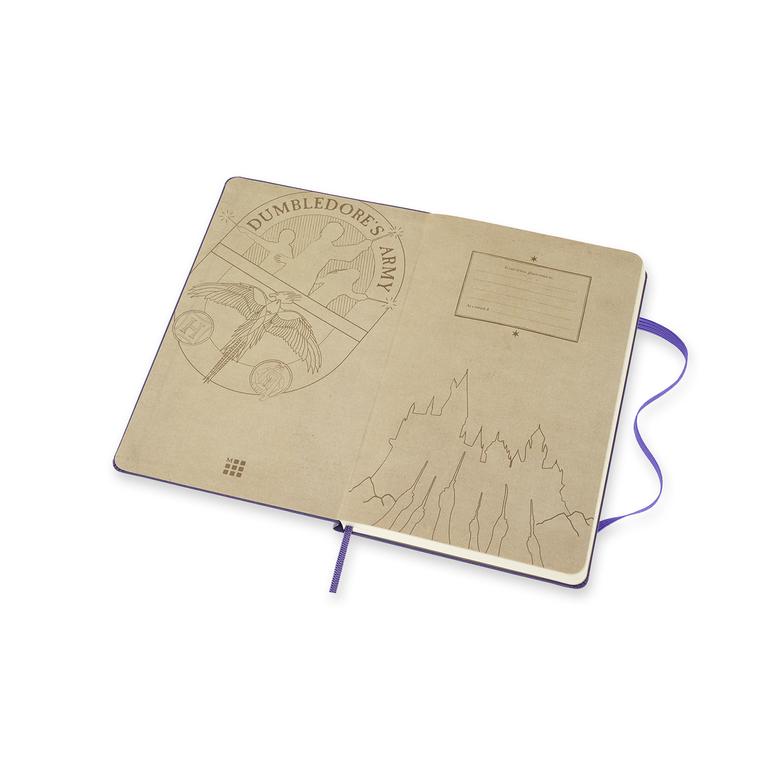 Caderno Moleskine Edição Limitada Harry Potter,  Livro 5, Capa Dura, Pautado, Grande