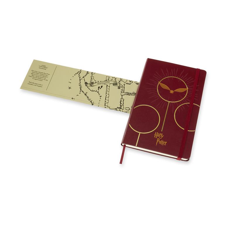 Caderno Moleskine Edição Limitada Harry Potter, Livro 6, Capa Dura, Pautado, Grande