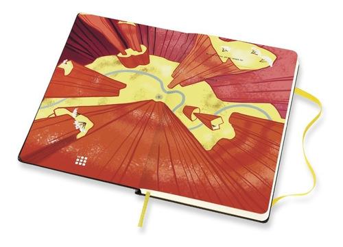 Caderno Moleskine, Edição Limitada Looney Tunes, Wile E. Coyote, Pautado, Grande (13 x 21 cm)