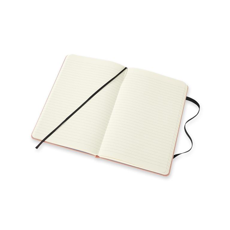 Caderno Moleskine Edição Limitada One Piece, Borracha, Capa Dura, Pautado, Grande