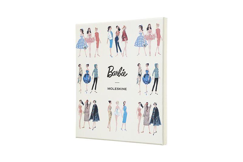 Caixa Colecionável Moleskine Barbie, contém Caderno Grande, Capa Dura, Pautado + Caneta Roller Pen, tinta preta, 0.7 - EDIÇÃO LIMITADA E NUMERADA