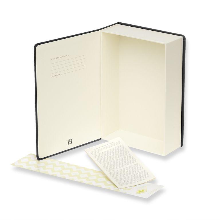 Caixa de Memórias Moleskine, Preta, Grande (23 x 15,5 cm)