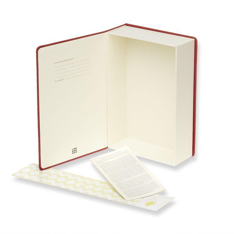 Caixa de Memórias Moleskine, Vermelha, Grande (23 x 15,5 cm)