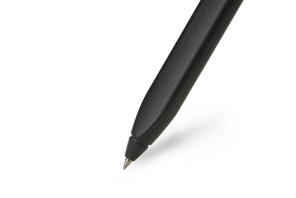 Caneta Moleskine Roller Pen Plus, Preta, Tinta Preta, Com Tampa, Ponta 0.5