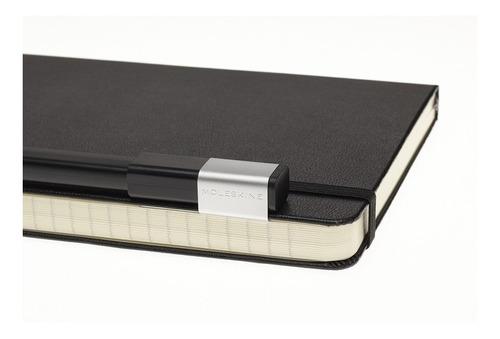 Conjunto Caderno Moleskine e Caneta Moleskine, Preto