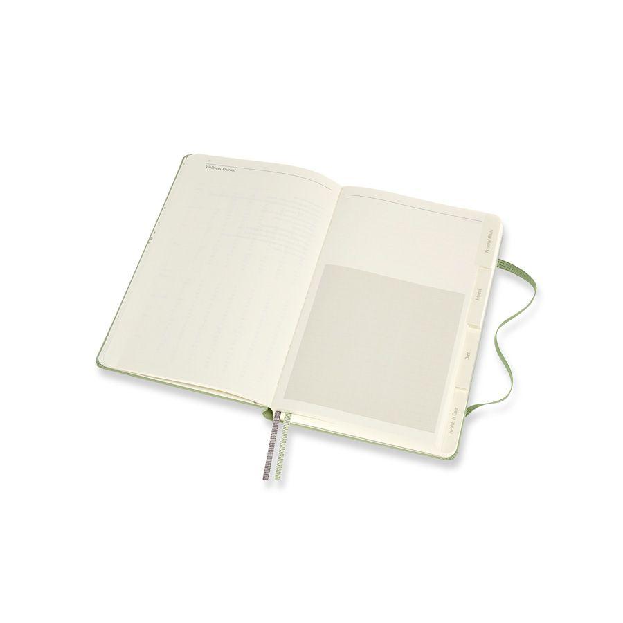 Diário de Paixões Moleskine, Bem-Estar, Grande (13 x 21 cm)