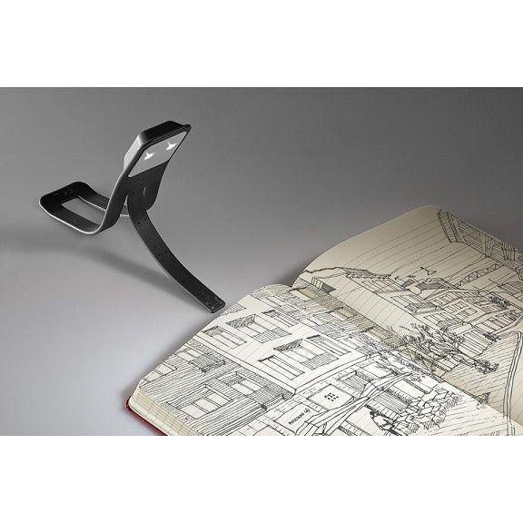 Lâmpada para Leitura Moleskine, Preta, USB