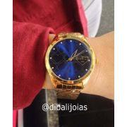 Relógio Lince Dourado Lrg4345l