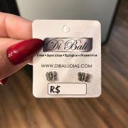 Brinco de Prata Borboleta Pequena
