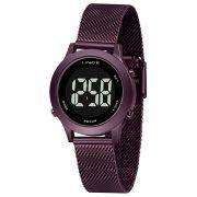 Relógio Lince Digital Roxo - SDPH115L