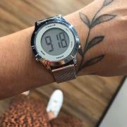 Relógio LINCE Prata Digital - SDPH111L