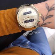 Relógio Lince Dourado - LAG4591L