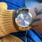 Relógio Lince Dourado - LRG4319L