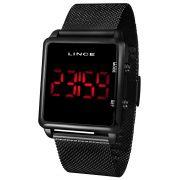 Relógio Lince Led Preto - MDN4596L