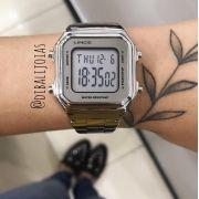 Relógio Lince Vintage Prata - SDM616L