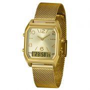 Relógio Lince Anadigi Dourado - LAGH119L