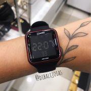 Relógio X Games Preto Com Detalhe Vermelho - XGPPD101