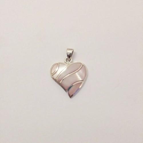 Pingente Coração De Prata