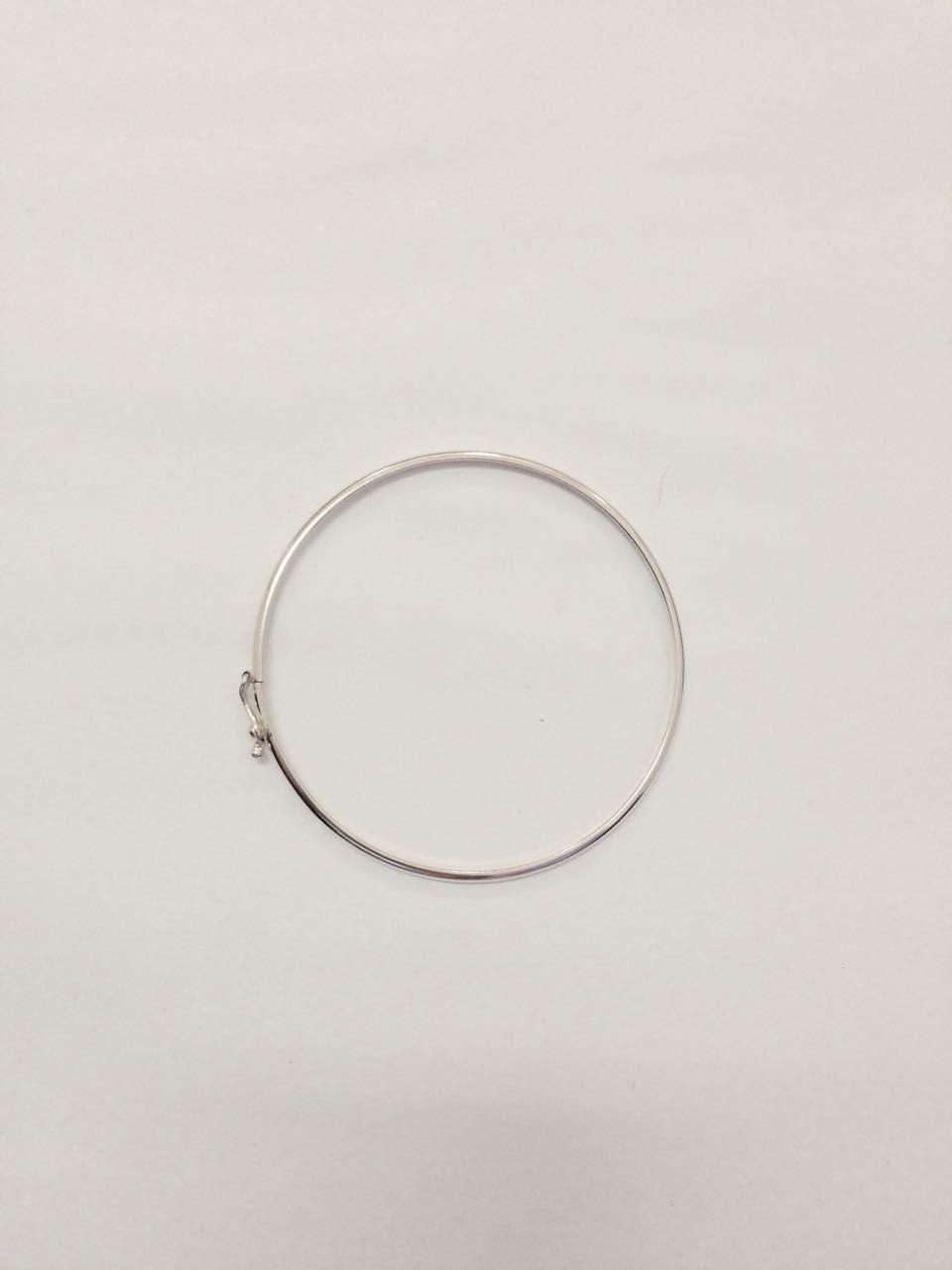 Bracelete de Prata Liso