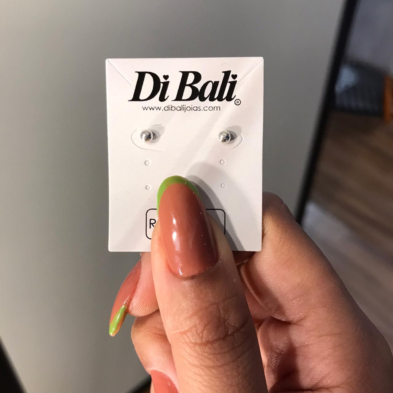 Brinco de Prata Bola 3mm