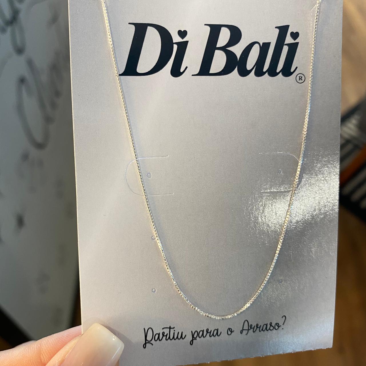 Corrente de Prata Veneziana Fina 45cm