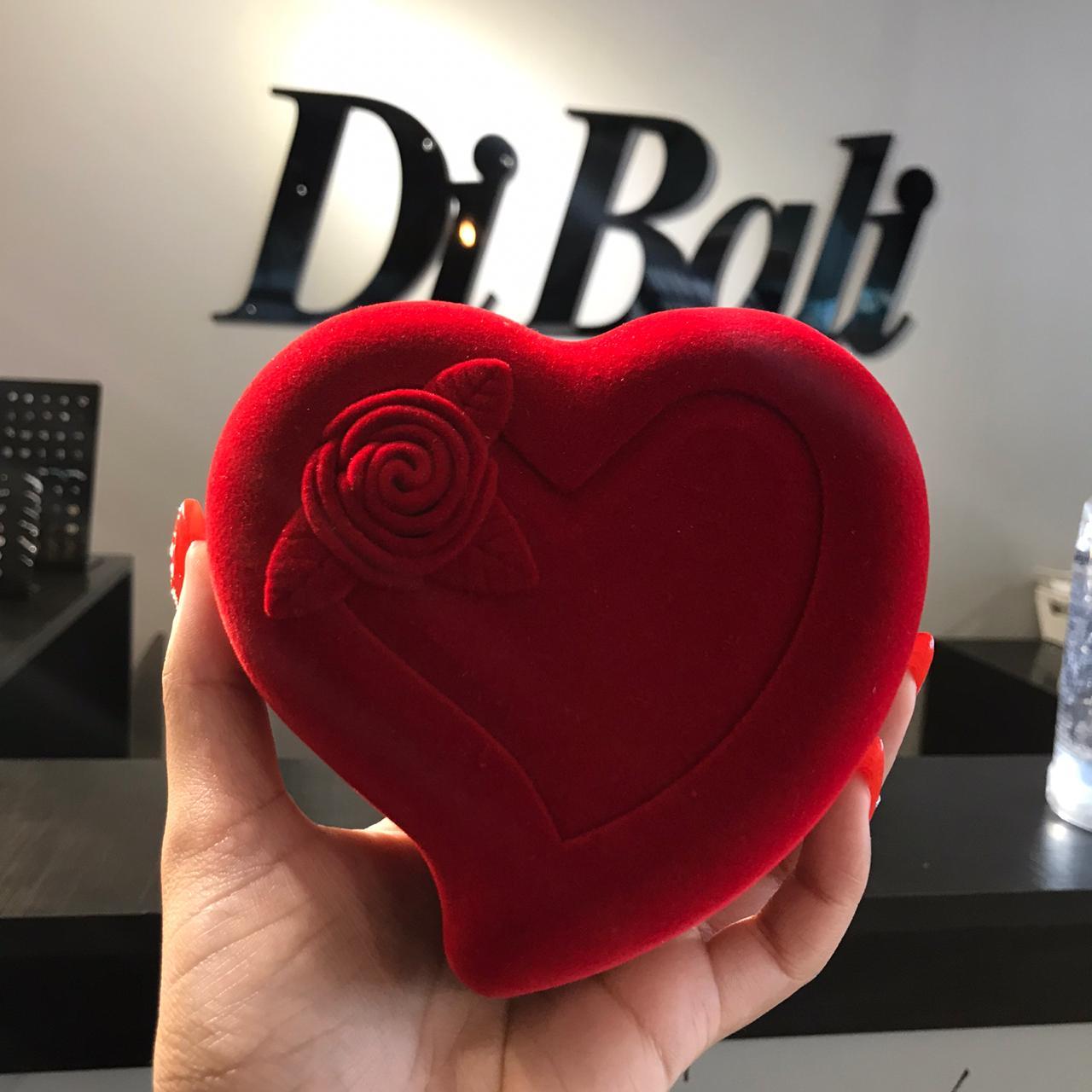 Embalagem de Coração Grande