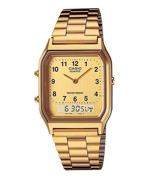 Relógio Casio Digital-Analógico - AQ-230GA-9BMQ