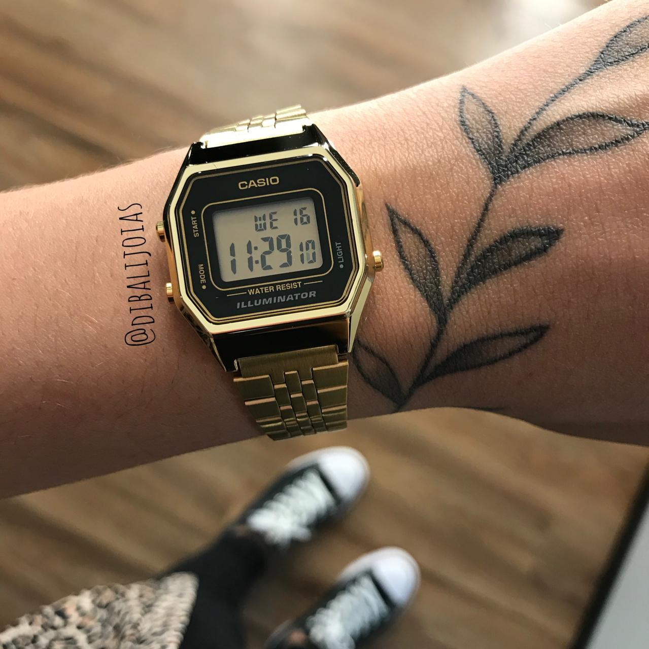 Relógio Casio Mini Vintage - LA680WGA-1DF