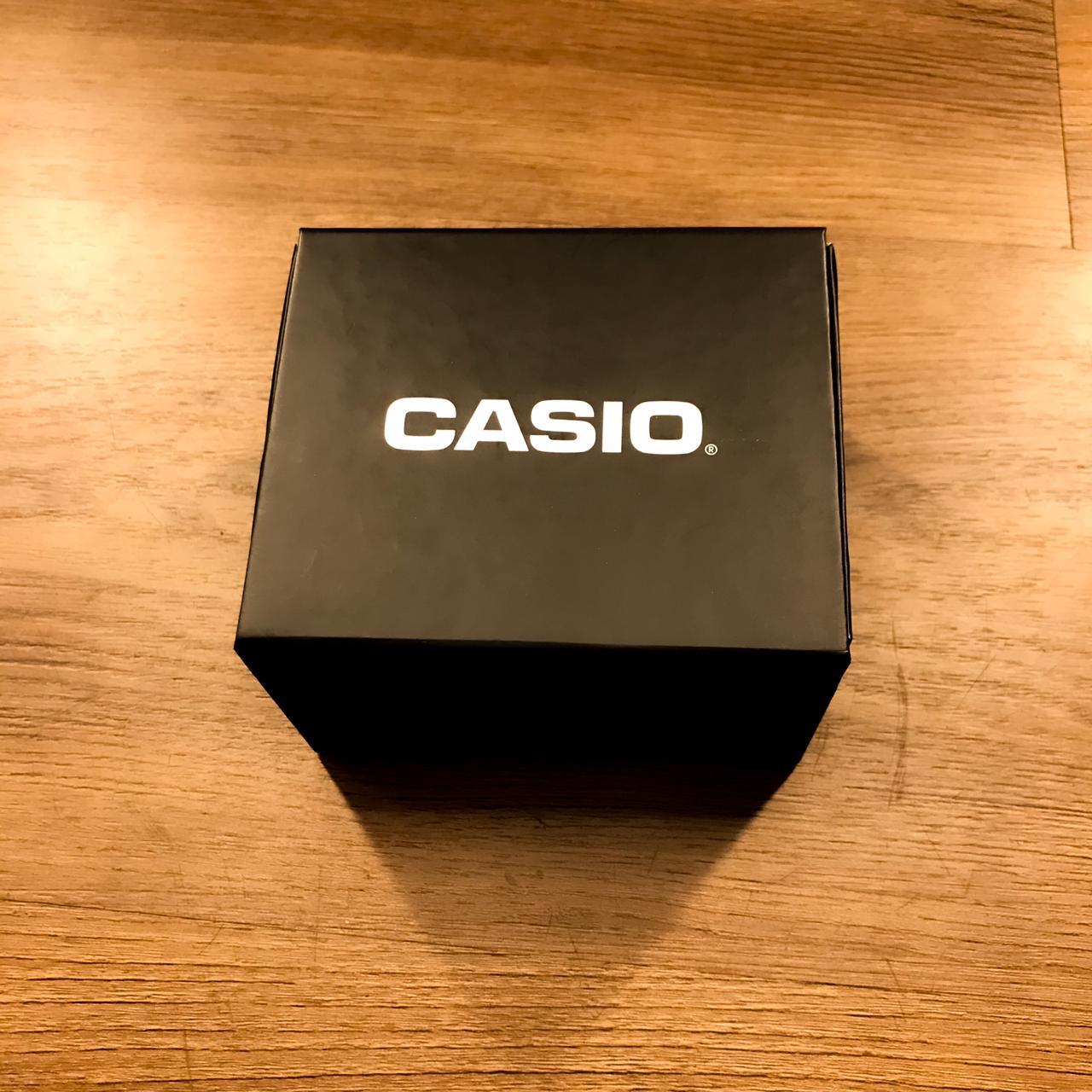 Relógio Casio Vintage Caixa Prata - F-91WM-7A