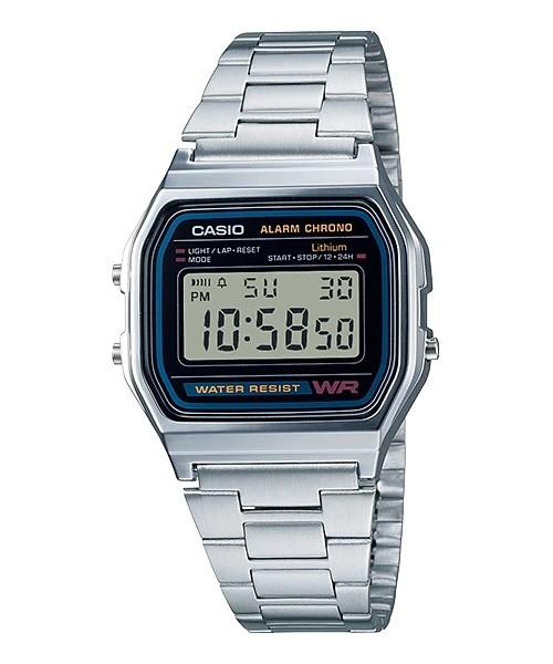 Relógio Casio Vintage Prata - A158WA-1