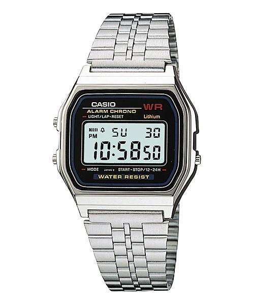 Relógio Casio Vintage Prata - A159WA-N1DF