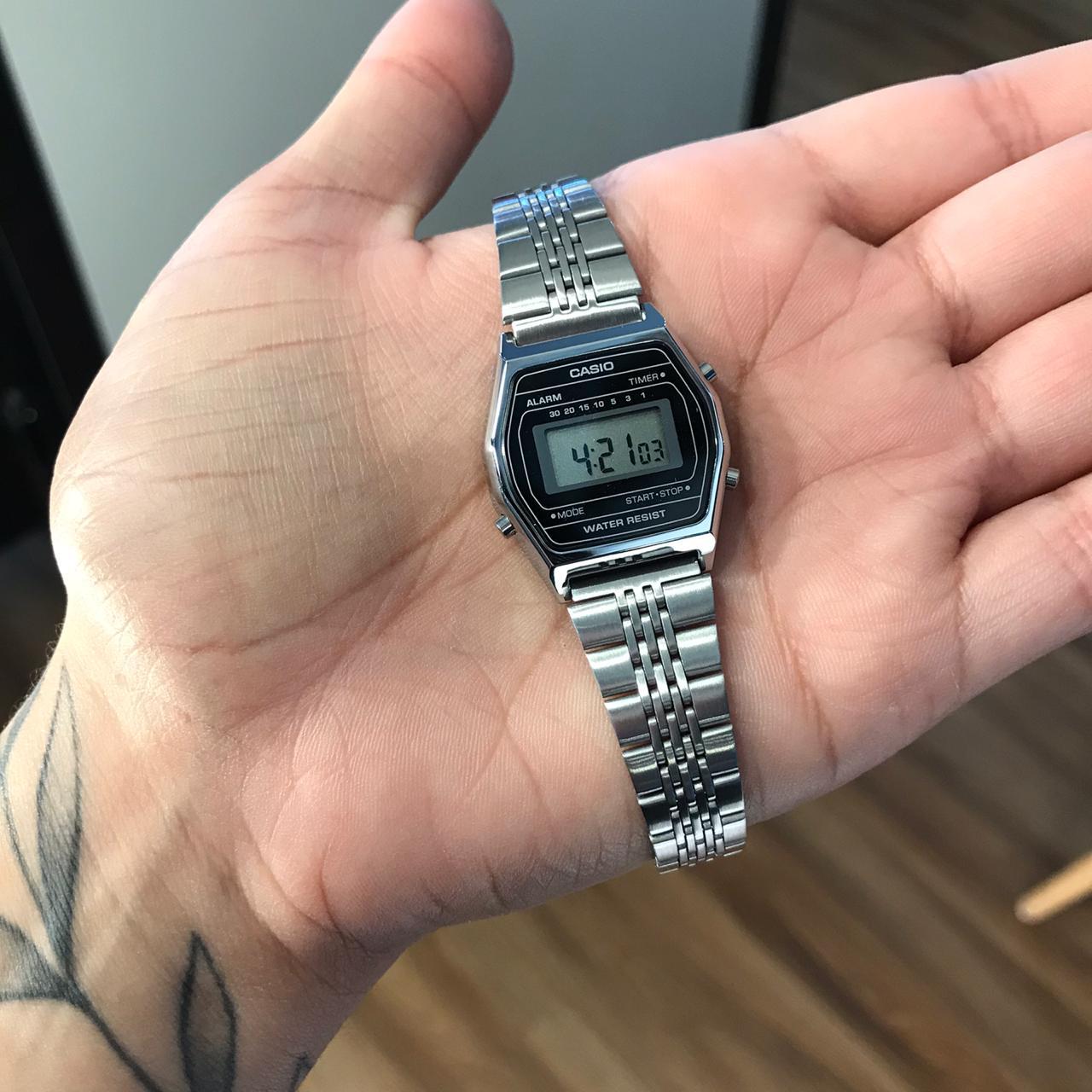 Relógio Casio Vintage Preto - W-217H-1AV