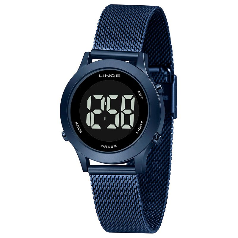 Relógio Lince Digital Azul - SDPH116L