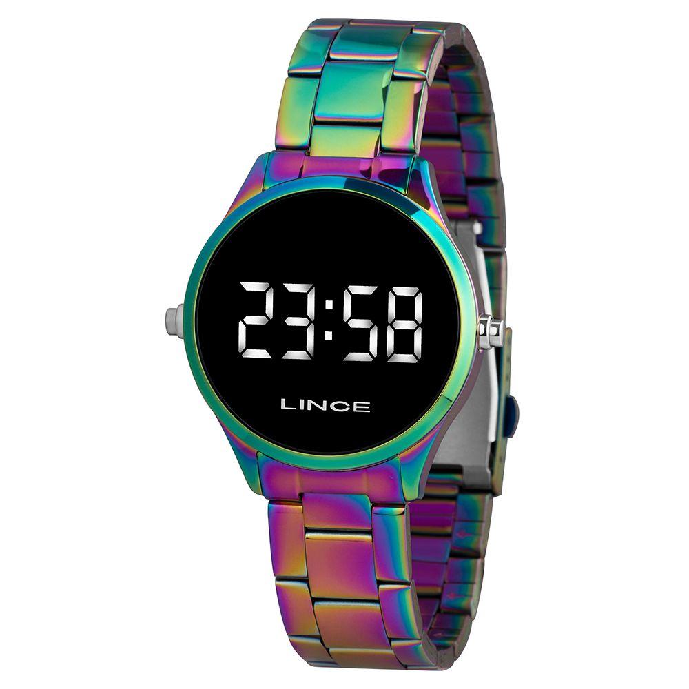 Relógio Lince Led  Multicolor-  MDT4617L